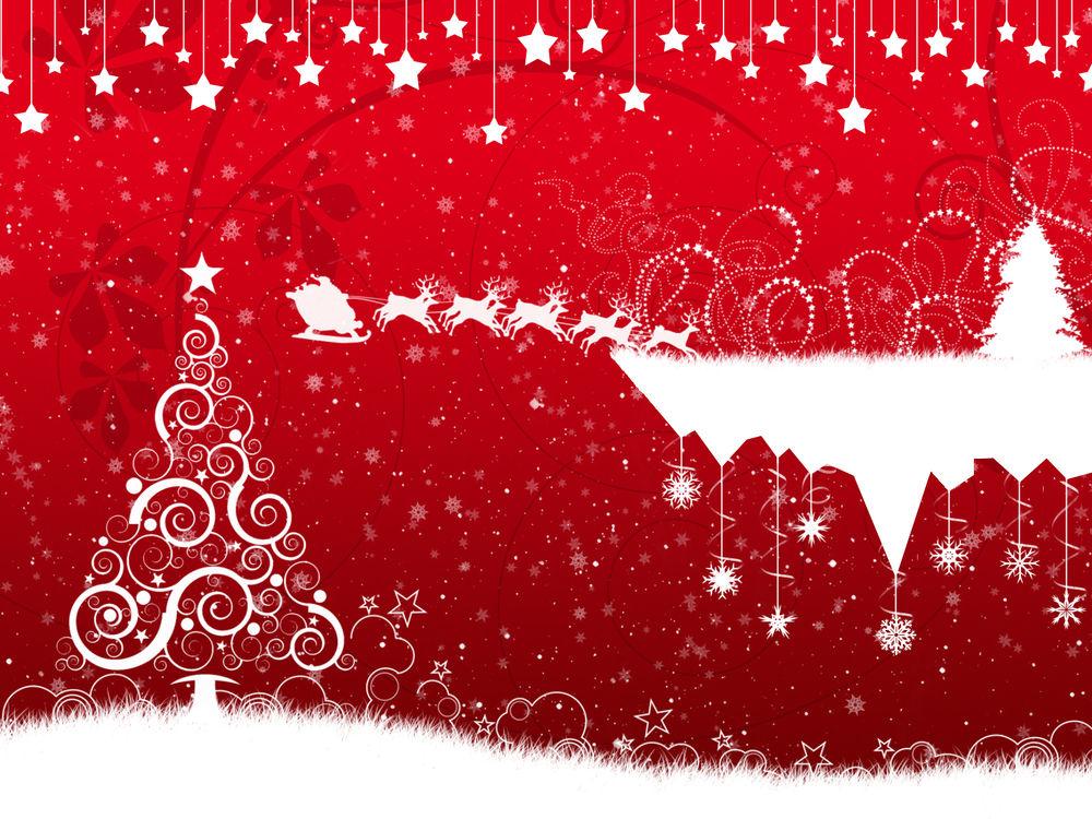 Новогодние Картинки С Оленями На Рабочий Стол