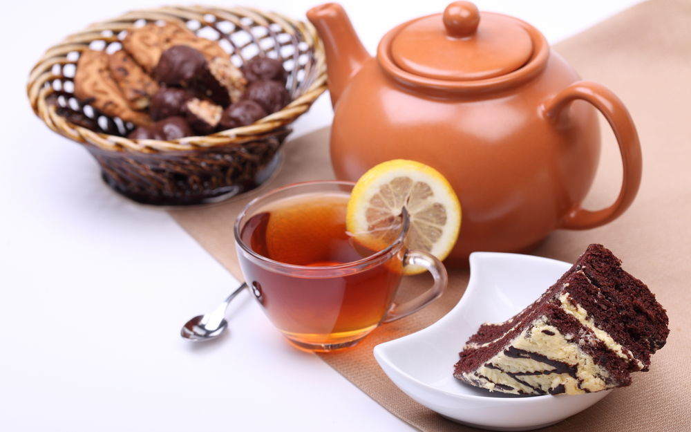торт из заварки чая и варенья