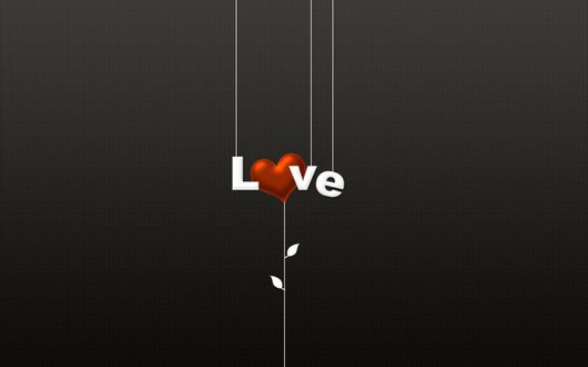 Обои Надпись LOVE