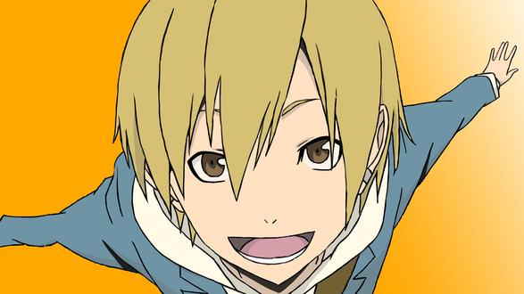 Обои Кида Масаоми из аниме Durarara