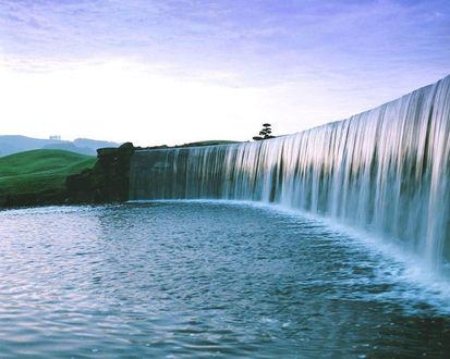 Обои Большой водопад