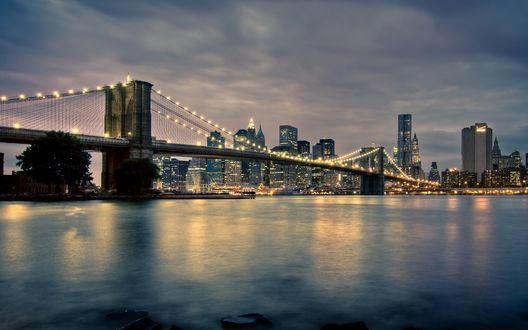 Обои New-York, Manhattan, USA / Нью-Йорк, Манхеттен, США