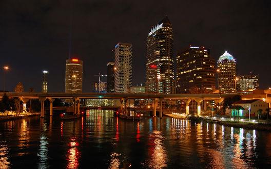 Обои Tampa Bay Florida, USA / Тампа-Бэй, Флорида, США
