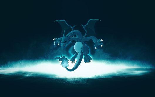 Обои Дракон из мультфильма Покемоны