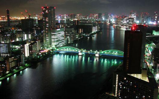 Обои Tokyo Panorama / Токио Панорама