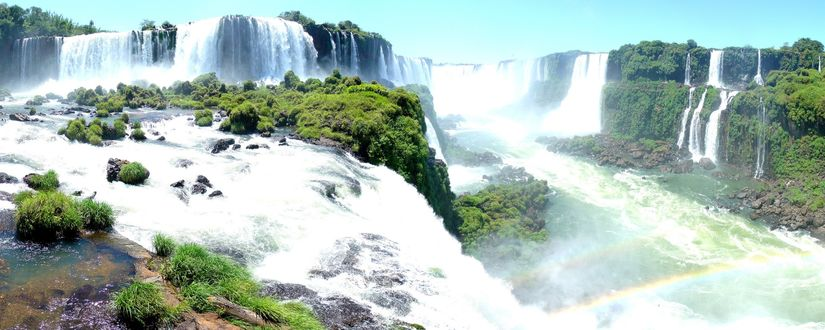 Обои Водопады Игуасу / Iguassu