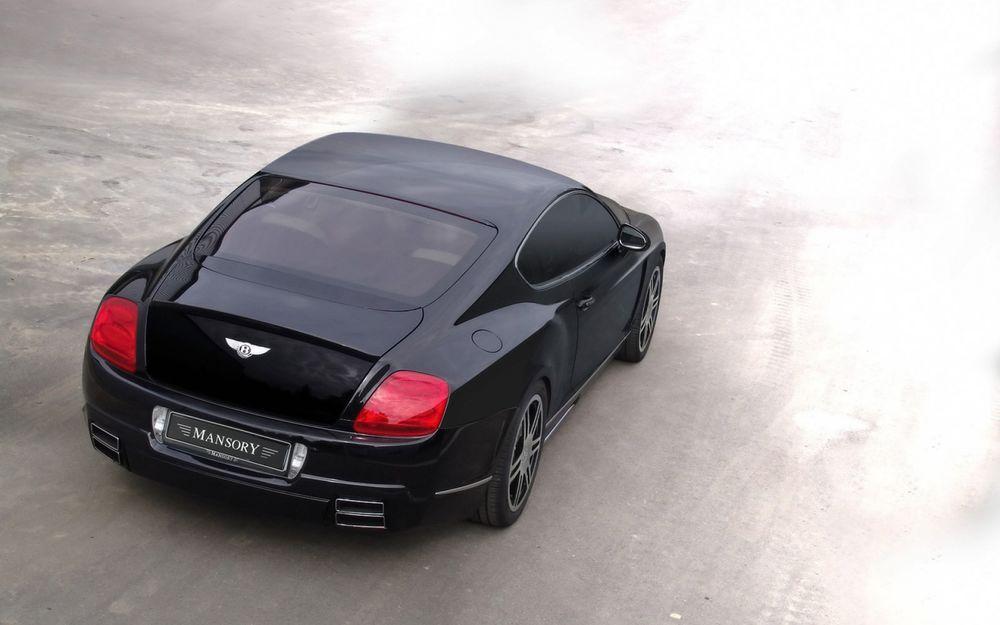 Обои для рабочего стола Mansory Bentley Continental GT / Бентли