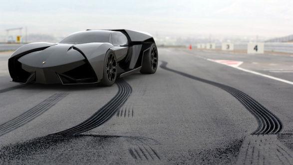Обои Концепт concept Lamborghini Аnkonian