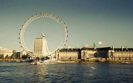 Обои Колесо обозрения в Лондоне / London