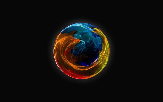 Обои Логотип Мазилы \ Mozilla Firefox