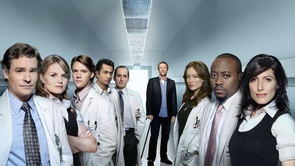 Обои Команда доктора Хауса ( сериал *Доктор Хаус / House M.D.*)