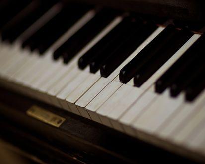 Обои Клавиши пианино