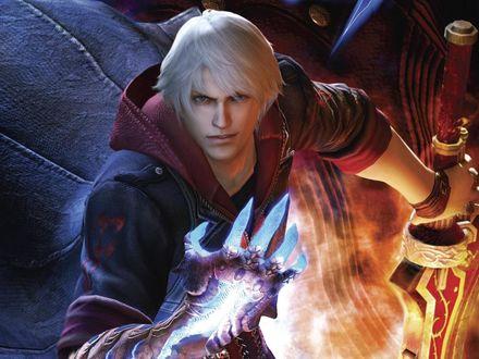 Обои Неро из игры Devil may cry
