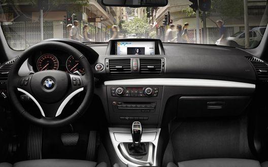 Обои Салон автомобиля БМВ / BMW