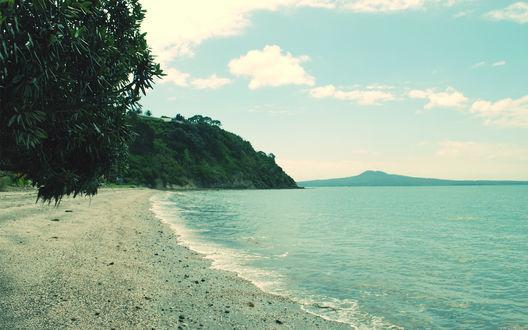 Обои Берег тропического острова