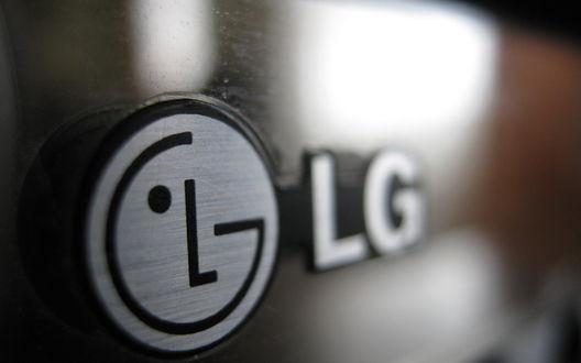 Обои Значок LG, бренд производителя электроники