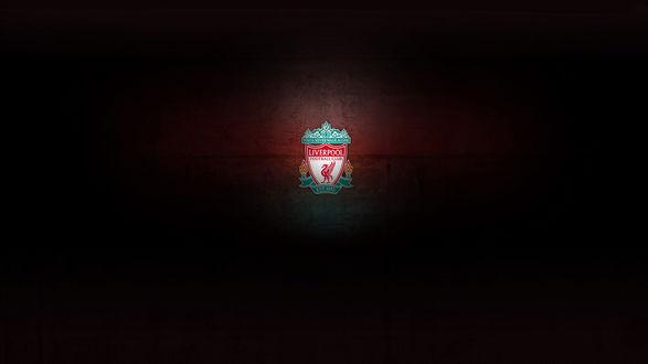 Обои Эмблема футбольного клуба 'Ливерпуль / Liverpool'