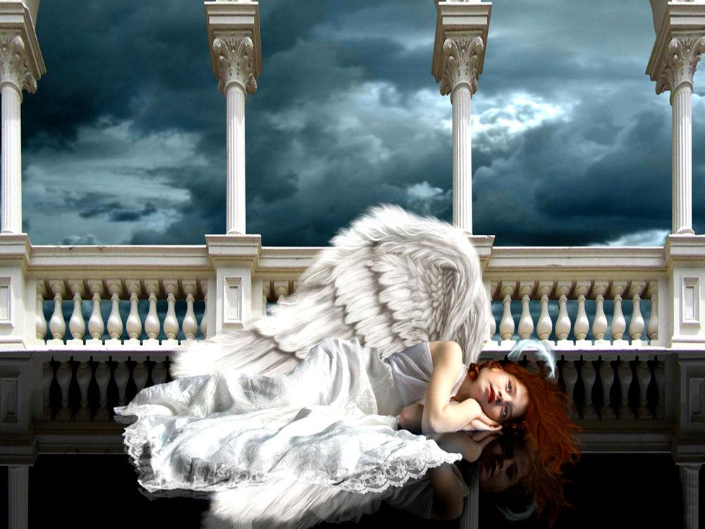 картинки уставшего ангела выложить