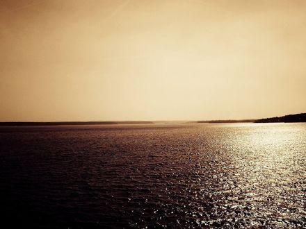 Обои Море и небо