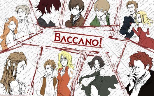 Обои Персонажи аниме Шумиха (Baccano!)