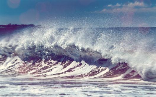 Обои Морская волна