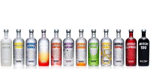 Обои Водка Абсолют / Vodka Absolut, алкогольный бренд
