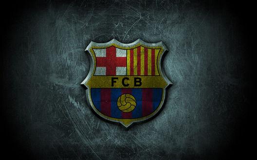Обои Знак футбольного клуба Барселона / Barcelona (FCB)