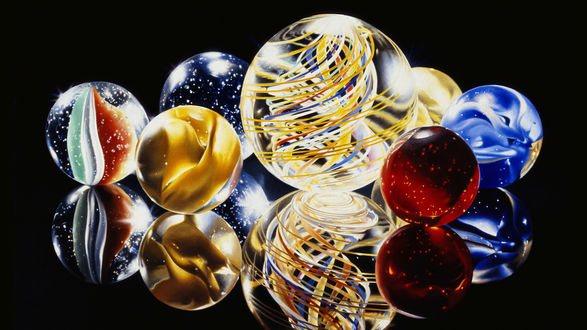 Обои Искусственно созданные шарики