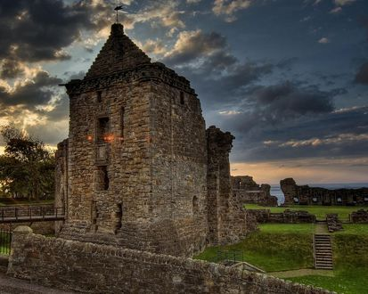 Обои Старая крепость