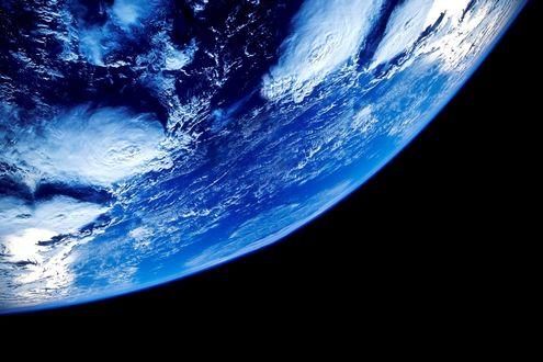 Обои Планета Земля. Вид из космоса