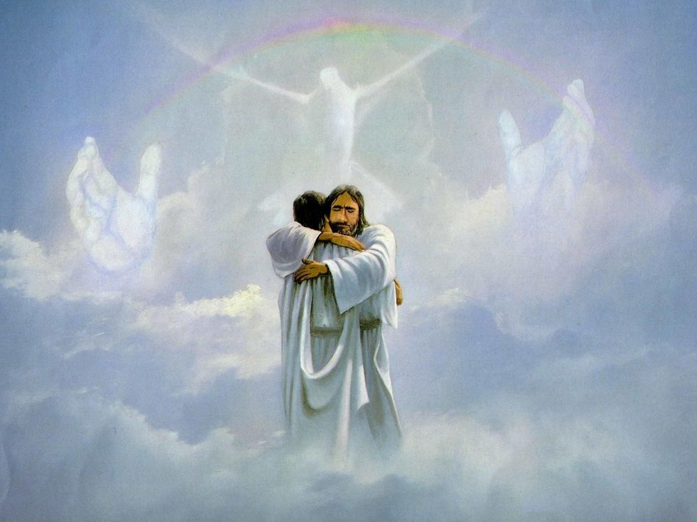фото облаков иисус