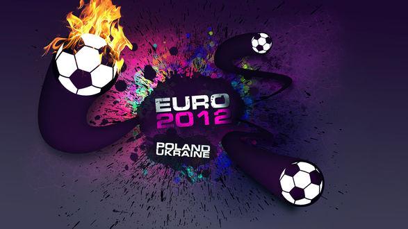Обои Реклама к ЕВРО 2012 / EURO 2012, Польша, Украина / Poland, Ukraine