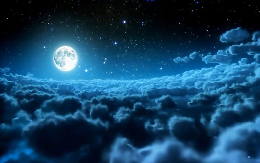 Обои Лунный свет / Moonlight