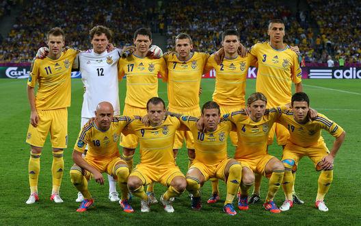 Обои Сборная Украины по футболу