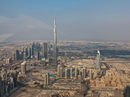 Обои Объединённые Арабские Эмираты, Бурдж-Дубаи