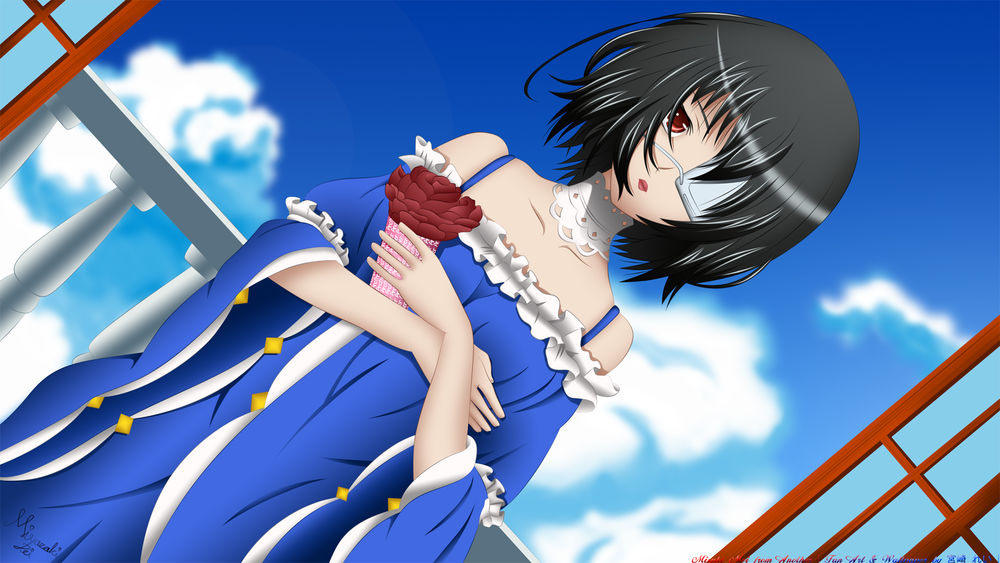 Фантастические образы осень картинки аниме