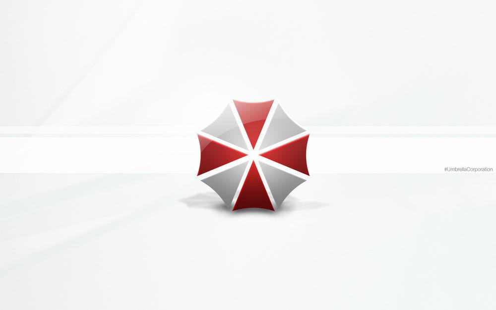 Обои для рабочего стола Логотип Umbrella corporation / Корпорация Амбрелла