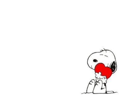 Обои Собака обнимает сердце