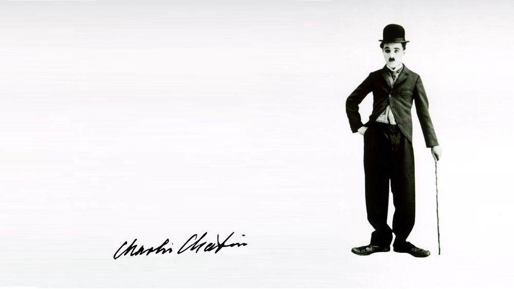 Обои для рабочего стола Известный актер и комик Чарли Чаплин / Charli Chaplin