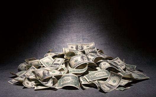Широкоформатные Обои Деньги Евро
