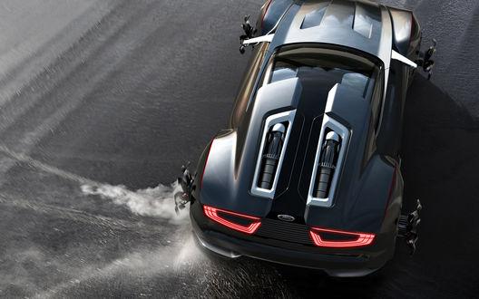 Обои Автомобиль Ford Mad Max Interceptor / Форд Плохой Макс Перехватчик