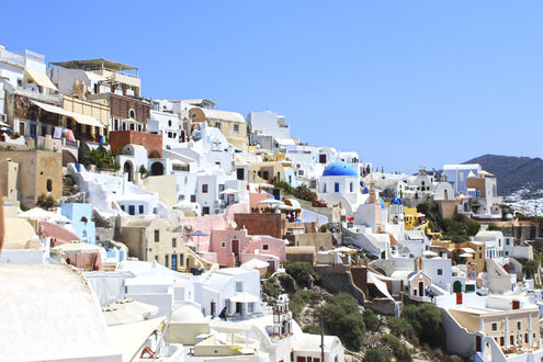 Обои Остров Сантарини / Thira, Греция / Grecia