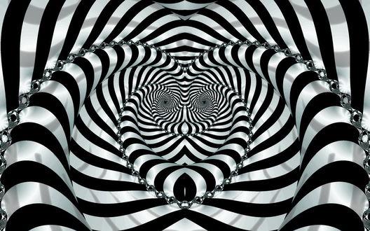 Обои Психоделическая картинка, иллюзия