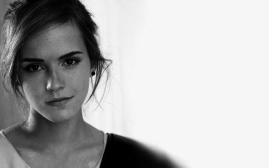 Обои Британская актриса и фотомодель Эмма Уотсон / Emma Watson