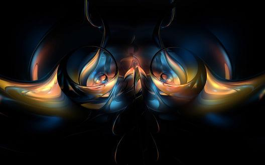 Обои Симметрия в трехмерном пространстве