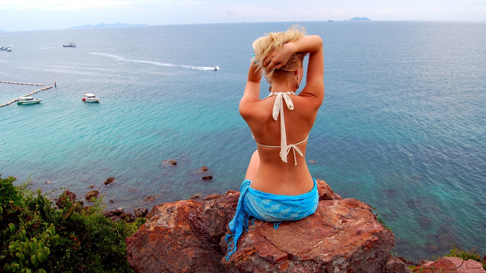 Девушка блондинка вид со спины, порно видео танцовщиц в турции