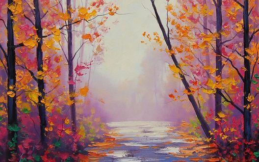 Обои Осенний пейзаж