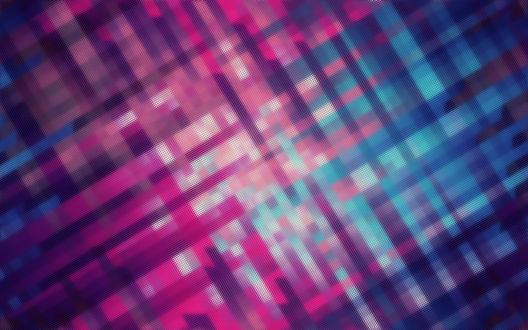 Обои Перекрестные линии темно-голубых, синих и красно-розовых линий