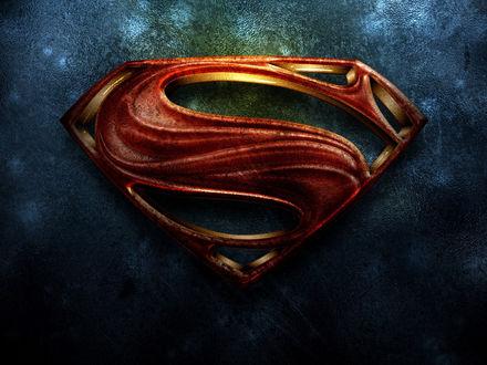 Обои Кожаный костюм Супермена / Superman