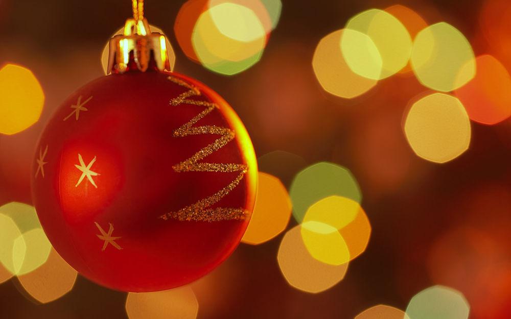 Картинки красивые, картинки с шарами новогодними